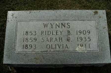 WYNNS, OLIVIA - Boone County, Arkansas   OLIVIA WYNNS - Arkansas Gravestone Photos