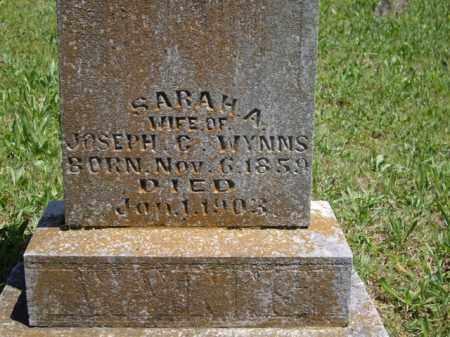WYNNS, SARAH A. - Boone County, Arkansas | SARAH A. WYNNS - Arkansas Gravestone Photos