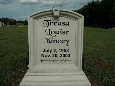 YANCEY, TREASA LOUISE - Boone County, Arkansas | TREASA LOUISE YANCEY - Arkansas Gravestone Photos