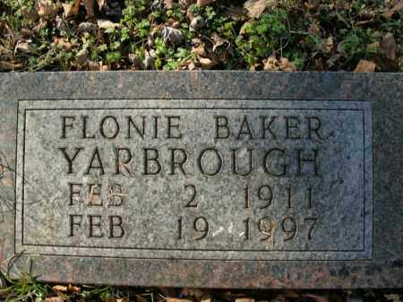 YARBROUGH, FLONIE - Boone County, Arkansas | FLONIE YARBROUGH - Arkansas Gravestone Photos
