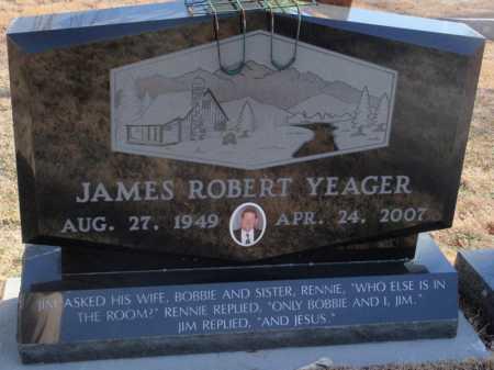 YEAGER, JAMES ROBERT - Boone County, Arkansas | JAMES ROBERT YEAGER - Arkansas Gravestone Photos