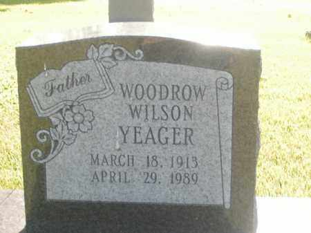 YEAGER, WOODROW WILSON - Boone County, Arkansas | WOODROW WILSON YEAGER - Arkansas Gravestone Photos