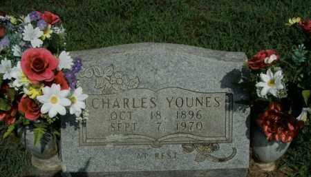 YOUNES, CHARLES - Boone County, Arkansas   CHARLES YOUNES - Arkansas Gravestone Photos