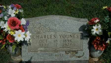 YOUNES, CHARLES - Boone County, Arkansas | CHARLES YOUNES - Arkansas Gravestone Photos