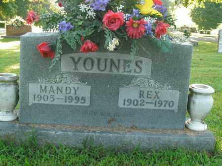 YOUNES, REX - Boone County, Arkansas | REX YOUNES - Arkansas Gravestone Photos