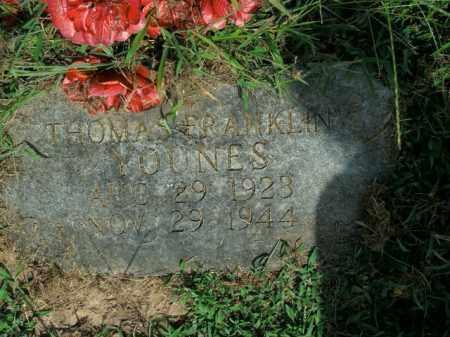 YOUNES, THOMAS FRANKLIN - Boone County, Arkansas   THOMAS FRANKLIN YOUNES - Arkansas Gravestone Photos
