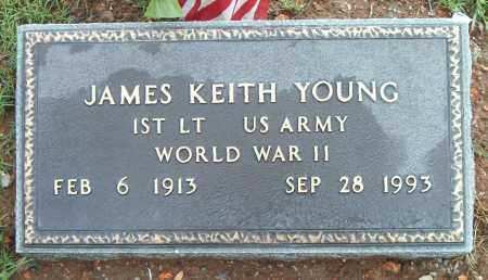 YOUNG  (VETERAN WWII), JAMES KEITH - Boone County, Arkansas | JAMES KEITH YOUNG  (VETERAN WWII) - Arkansas Gravestone Photos