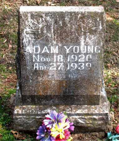 YOUNG, ADAM - Boone County, Arkansas | ADAM YOUNG - Arkansas Gravestone Photos