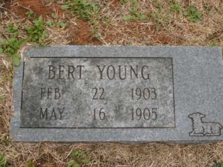 YOUNG, BERT - Boone County, Arkansas | BERT YOUNG - Arkansas Gravestone Photos