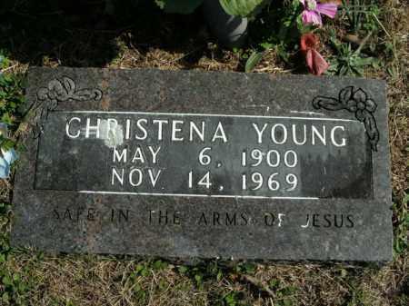YOUNG, CHRISTENA - Boone County, Arkansas   CHRISTENA YOUNG - Arkansas Gravestone Photos