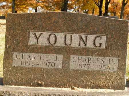 YOUNG, CHARLES H. - Boone County, Arkansas | CHARLES H. YOUNG - Arkansas Gravestone Photos
