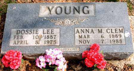 YOUNG, ANNA  MAE - Boone County, Arkansas | ANNA  MAE YOUNG - Arkansas Gravestone Photos