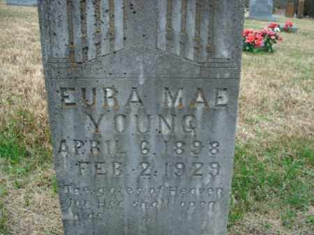 YOUNG, EURA MAE - Boone County, Arkansas | EURA MAE YOUNG - Arkansas Gravestone Photos