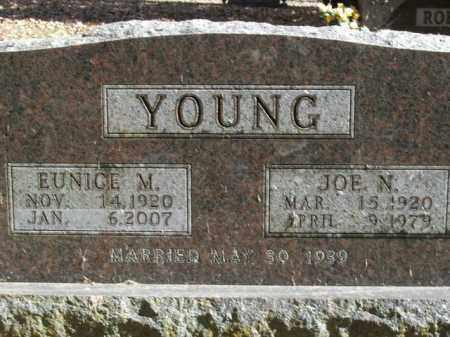 YOUNG, EUNICE MARIE - Boone County, Arkansas | EUNICE MARIE YOUNG - Arkansas Gravestone Photos