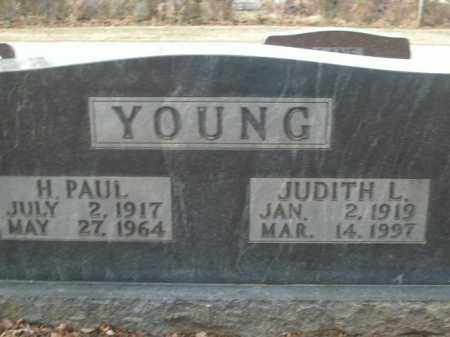 YOUNG, H. PAUL - Boone County, Arkansas | H. PAUL YOUNG - Arkansas Gravestone Photos