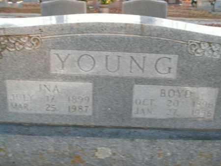 YOUNG, BOYD - Boone County, Arkansas | BOYD YOUNG - Arkansas Gravestone Photos