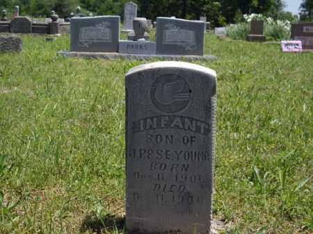 YOUNG, INFANT SON - Boone County, Arkansas | INFANT SON YOUNG - Arkansas Gravestone Photos