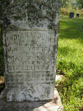 YOUNG, INDIANA - Boone County, Arkansas   INDIANA YOUNG - Arkansas Gravestone Photos