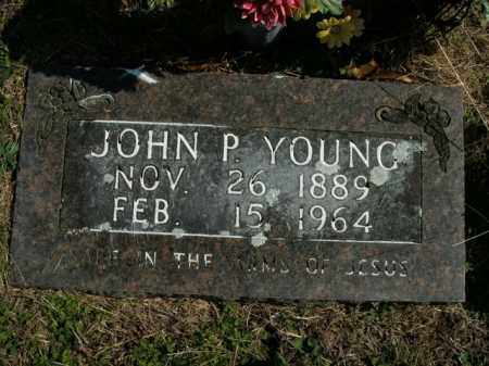 YOUNG, JOHN P. - Boone County, Arkansas   JOHN P. YOUNG - Arkansas Gravestone Photos