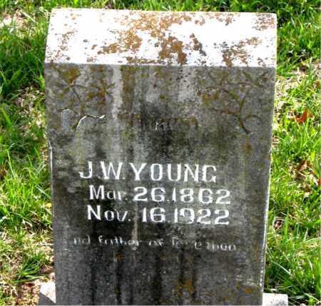 YOUNG, JAMES WESLEY - Boone County, Arkansas | JAMES WESLEY YOUNG - Arkansas Gravestone Photos