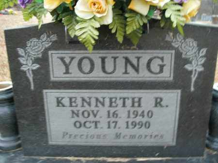 YOUNG, KENNETH R. - Boone County, Arkansas | KENNETH R. YOUNG - Arkansas Gravestone Photos