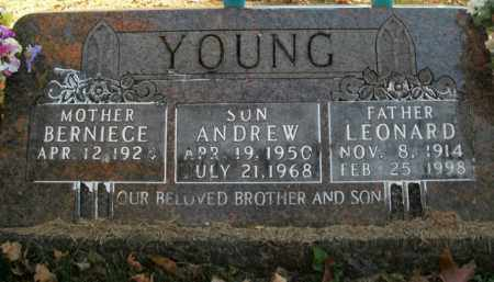 YOUNG, LEONARD - Boone County, Arkansas | LEONARD YOUNG - Arkansas Gravestone Photos