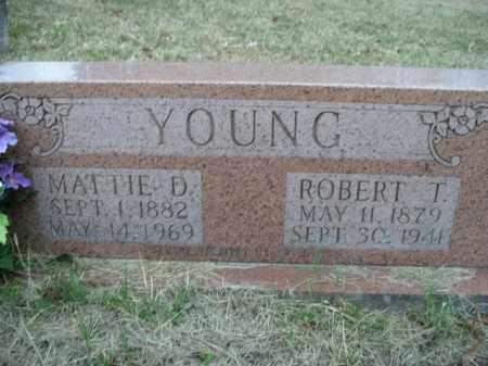 YOUNG, MATTIE D. - Boone County, Arkansas | MATTIE D. YOUNG - Arkansas Gravestone Photos
