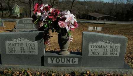 YOUNG, MATTIE LOIS - Boone County, Arkansas | MATTIE LOIS YOUNG - Arkansas Gravestone Photos