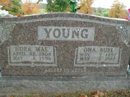 YOUNG, ONA BURL - Boone County, Arkansas | ONA BURL YOUNG - Arkansas Gravestone Photos