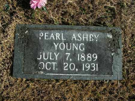 ASHBY YOUNG, PEARL - Boone County, Arkansas | PEARL ASHBY YOUNG - Arkansas Gravestone Photos