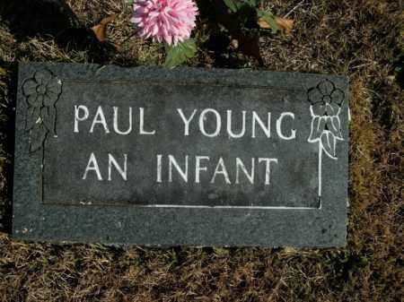 YOUNG, PAUL - Boone County, Arkansas   PAUL YOUNG - Arkansas Gravestone Photos