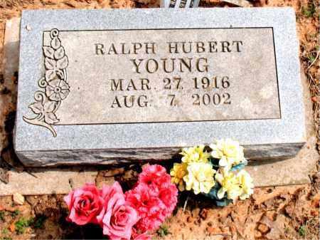 YOUNG, RALPH HUBERT - Boone County, Arkansas   RALPH HUBERT YOUNG - Arkansas Gravestone Photos