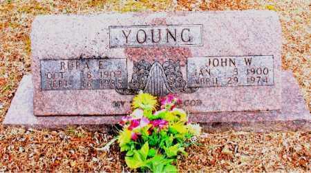 YOUNG, RURA  E. - Boone County, Arkansas   RURA  E. YOUNG - Arkansas Gravestone Photos