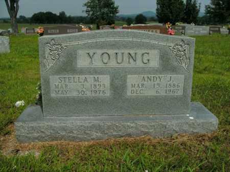 YOUNG, STELLA M. - Boone County, Arkansas | STELLA M. YOUNG - Arkansas Gravestone Photos