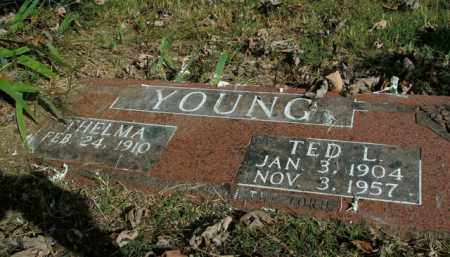YOUNG, TED L. - Boone County, Arkansas | TED L. YOUNG - Arkansas Gravestone Photos