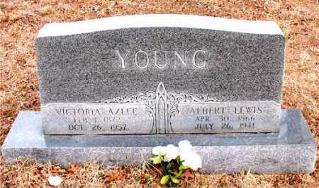 YOUNG, ALBERT  LEWIS - Boone County, Arkansas | ALBERT  LEWIS YOUNG - Arkansas Gravestone Photos
