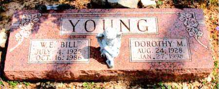 SLAPE YOUNG, DOROTHY M. - Boone County, Arkansas | DOROTHY M. SLAPE YOUNG - Arkansas Gravestone Photos