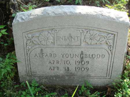 YOUNGBLOOD, ALFARD - Boone County, Arkansas | ALFARD YOUNGBLOOD - Arkansas Gravestone Photos