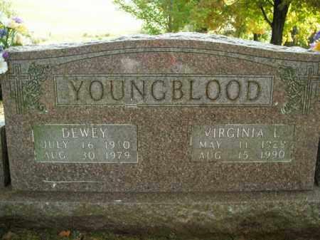 YOUNGBLOOD, DEWEY - Boone County, Arkansas | DEWEY YOUNGBLOOD - Arkansas Gravestone Photos