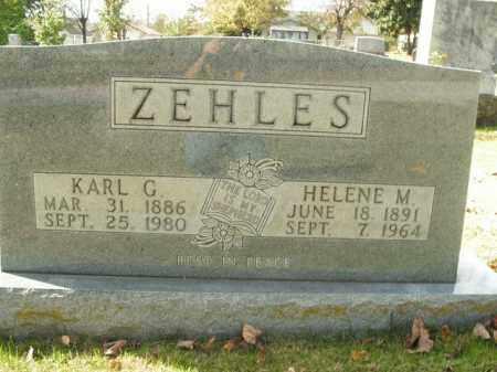 ZEHLES, HELENE M. - Boone County, Arkansas   HELENE M. ZEHLES - Arkansas Gravestone Photos