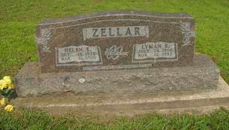 ZELLAR, HELEN E. - Boone County, Arkansas | HELEN E. ZELLAR - Arkansas Gravestone Photos