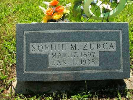 ZURGA, SOPHIE M. - Boone County, Arkansas | SOPHIE M. ZURGA - Arkansas Gravestone Photos