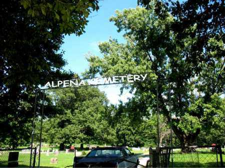 *ALPENA CEMETERY GATE,  - Boone County, Arkansas    *ALPENA CEMETERY GATE - Arkansas Gravestone Photos