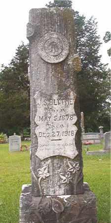 BLYTHE, J S - Bradley County, Arkansas | J S BLYTHE - Arkansas Gravestone Photos