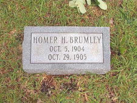 BRUMLEY, HOMER H - Bradley County, Arkansas | HOMER H BRUMLEY - Arkansas Gravestone Photos