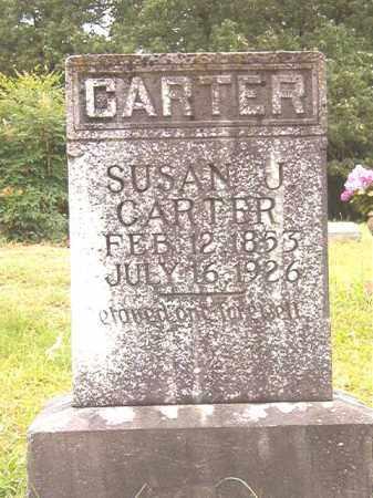 CARTER, SUSAN J - Bradley County, Arkansas | SUSAN J CARTER - Arkansas Gravestone Photos
