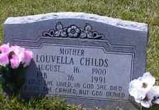 """CHILDS, MARY LOUVELLA """"MOLLY"""" - Bradley County, Arkansas 