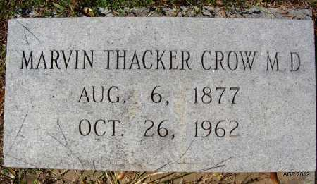 CROW DR, MARVIN THACKER - Bradley County, Arkansas | MARVIN THACKER CROW DR - Arkansas Gravestone Photos