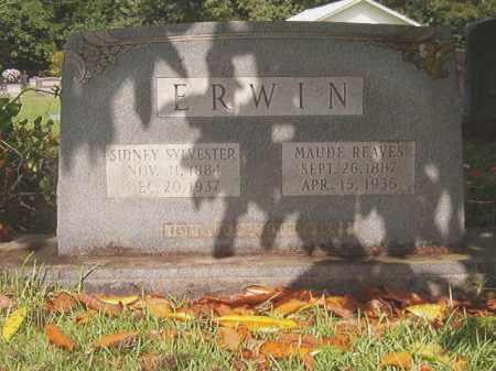 ERWIN, MAUDE - Bradley County, Arkansas | MAUDE ERWIN - Arkansas Gravestone Photos