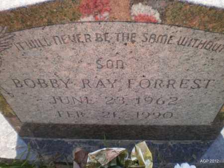 FORREST, BOBBY RAY - Bradley County, Arkansas   BOBBY RAY FORREST - Arkansas Gravestone Photos